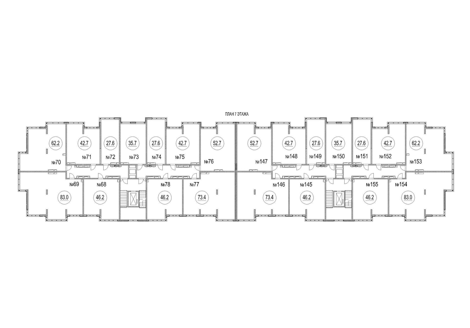 План этажа - 1